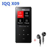 Aluminum Alloy MP4 Player 16gb With Built In Speaker Hifi Player Hifi Speaker Fm IQQ X09