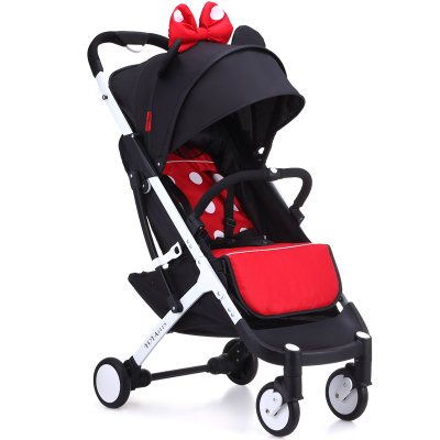 yoyaplus Baby Strollers can sit and lie baby stroller baby stroller can folding Baby stroller winter summer free shipping portab