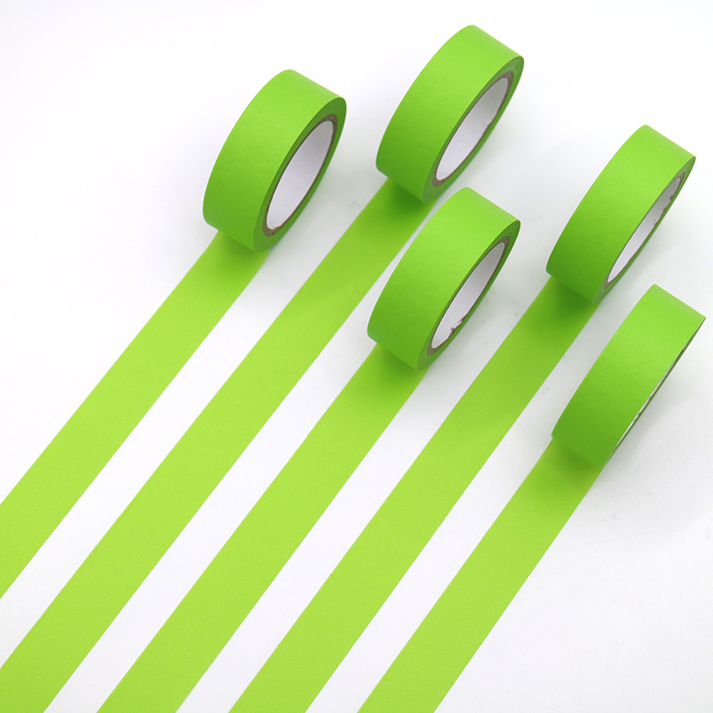 1 PCS Refreshing Kawaii Candy Green Color Washi Tape Pattern Masking Tape Decorative Scrapbooking DIY Office Adhesive Tape
