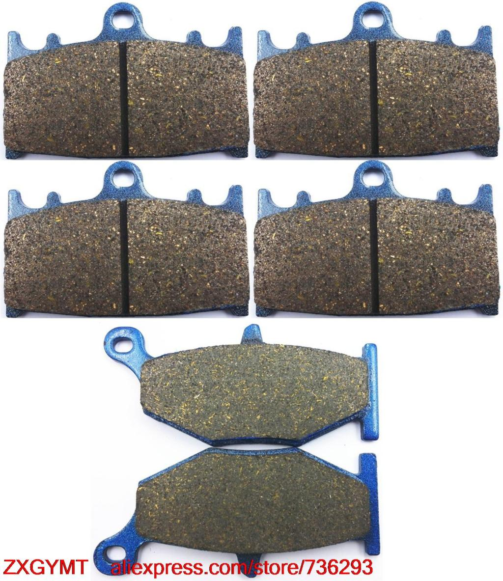 Motorcycle Semi-Metallic Brake Pad Set for SUZUKI GSR600 GSR 600 2006 & up