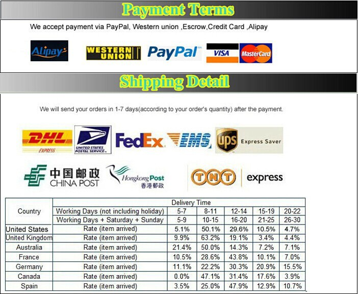 payment shpping detail