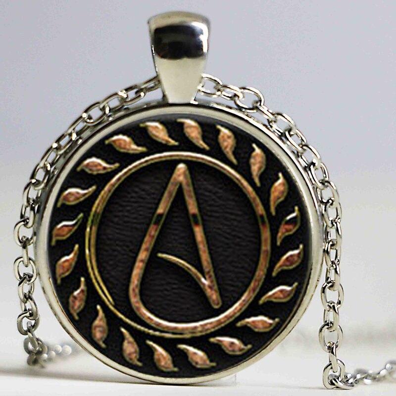 1pcs atheist pendant jewelry glass cabochon necklace a938 1pcs atheist pendant jewelry glass cabochon necklace aloadofball Choice Image