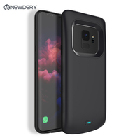 NEWDERY Newest 4700mAh TPU Rechargeable Charging battery case for Samsung Note 9 S9 S9+ 5200mAh Power case for Galaxy S9 plus