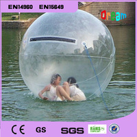 Free Shipping Factory Price 2M 0.8MM TPU Inflatable Human Hamster Ball Water Walking Ball Inflatable Water Ball Zorb Ball