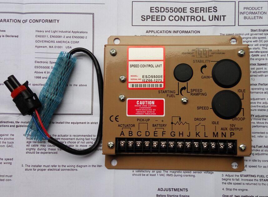 speed governor ESD5500E speed sensor 3034572