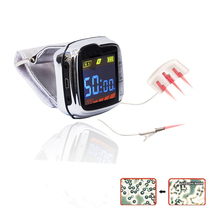 18 lasers Low Level Laser Therapy 650nm Wrist watch Semiconductor Diabetes High blood pressure laser therapy apparatus