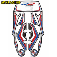 Motorcycle Front and rear fairing engine number plate 3D gel head sticker tank protector for BMW S1000RR 2012 2014 s1000RR
