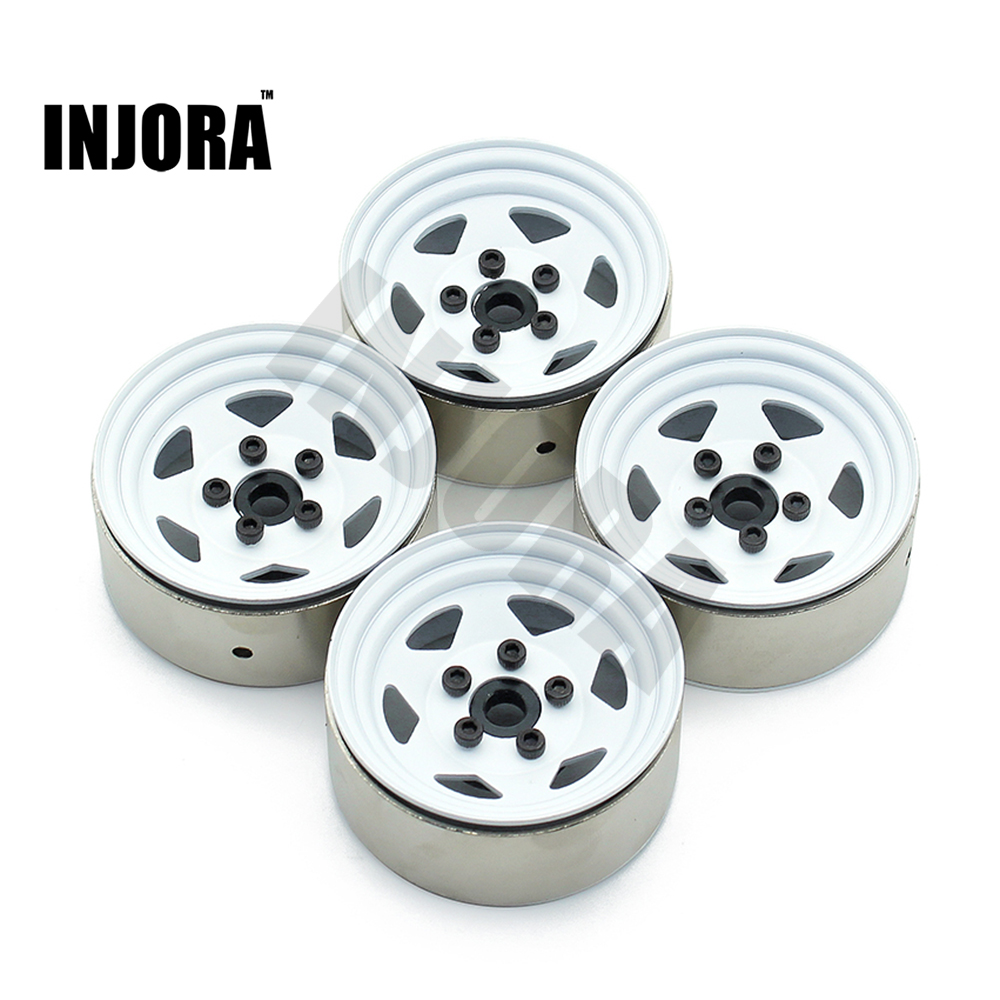 High Quality 1:10 RC Crawler 1.9 Inch BEADLOCK Metal Wheel Rim for Axial SCX10 TAMIYA CC01 RC4WD D90 D110 free shipping 4pcs lot 1 9 inch wheels tire tyre for rc car model crawler tamiya cc01 f350 rc 4wd axial scx10t etc