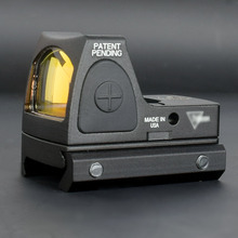 RMR Red Dot Anblick bereich Kollimator Glock Reflexvisier Umfang Fit 20mm Weber Schiene Für Airsoft Jagd Holographische Anblick