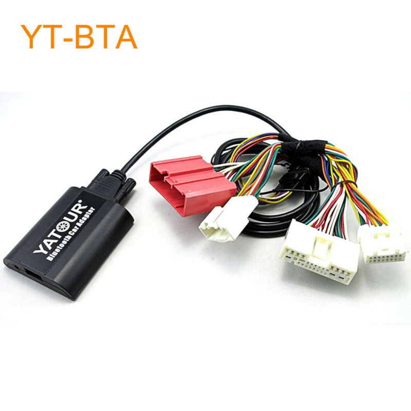 Yatour BTA Car Bluetooth Adapter Kit for Factory OEM Head Unit Radio for Mazda 3 5 6 CX5 CX-5 CX7 CX-7 RX8 RX-8 car usb sd aux adapter digital music changer mp3 converter for skoda octavia 2007 2011 fits select oem radios