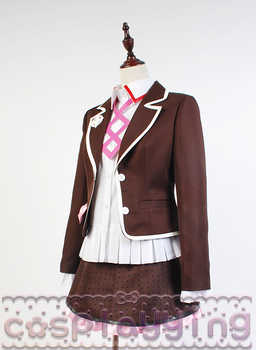 Cosplay Zettai Zetsubo Shojo: Danganronpa Another Episode Kotoko Utsugi Costume Full Set Uniform Cosplay Costume