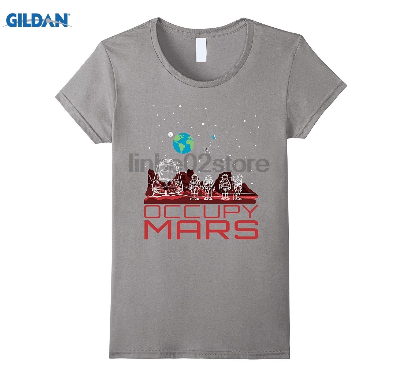 Возьмите занимают Марс-Смешные пространство наука футболки очки Для женщин футболка