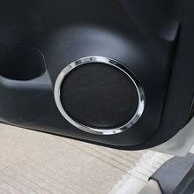 Jameo Авто двери Динамик кольцо крышки Динамик украшения отделочный стикер для Nissan X-Trail, PDF Rogue T32 2013-2017 аксессуары