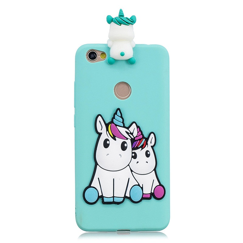 3D Doll Toys Candy Soft Silicone Cases For Xiaomi Redmi