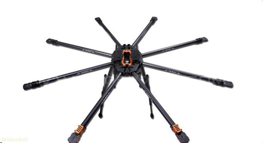 Tarot T18 Photographie Aérienne 25mm En Fiber De Carbone Protection des Végétaux UAV TL18T00 Octocopter Cadre Kit 1270mm pour RC FPV drone