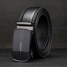 Men's Belts Black Automatic Buckle High Quality genuine leather male belts for men luxury strap designer belts men Brand