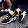 Mujeres Zapatillas de deporte de Malla Transpirable Deporte Zapatos Casuales Zapatos de Plataforma Zapatos Corrientes de Las Mujeres Cómodas Al Aire Libre Zapatillas Chaussures Femme