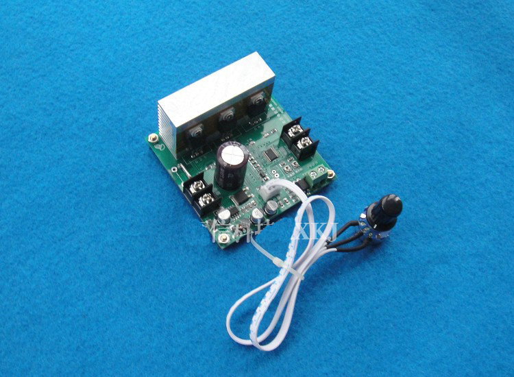 Free Shipping Dc12 60v Wide Voltage Pwm Dc Brush Motor