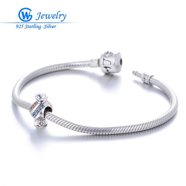 Atacado moda belas jóias color mix cz pedra doces forma fit encantos para pulseira europeu diy gw fine jewelry x341h30