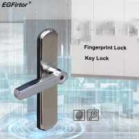 Digital Door Lock Fingerprint Smart Lock Home Security Alarm Electric Lock Intelligent Key Unlock With Lock Body