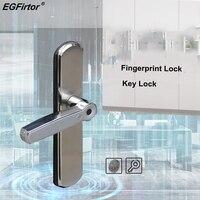 Digital Door Lock Fingerprint Smart Lock Home Security Alarm Electric Lock Intelligent Key Unlock With Lock Body