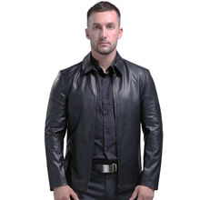 AIBIANOCEL Brand New Luxury High Quality Genuine Leather Jacket Men Spring Sheepskin Leather Jackets And Coats 4XL Man Clothings