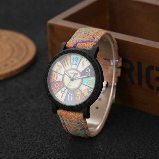 Lovers' Fashion Wood Watch Turntable Men's Watch Women's Watches Wooden Watch Women Men Clock reloj madera mujer hombre relogio 1