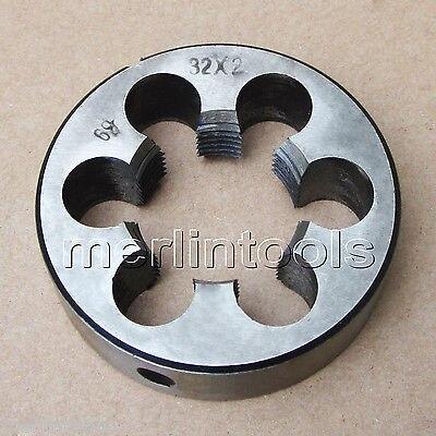 32 мм x 2.0 показателя правую руку умереть M32 x 2 мм шаг