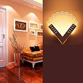 Modern Peacock Shape LED Wall Lamp Acryl+Iron Home Lighting Bedroom/Bedside Wall Sconce Light Living Sitting Room Foyer Bathroom
