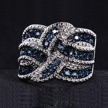 silver 925 ring  wholesale lots bulk fashion Women Party Bridal Sets Trendy