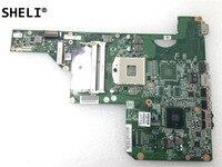 SHELI For HP G62 G72 CQ62 main board laptop motherboard notebook pc mainboard 605903 001 605903 501 605903 601 HM55 UMA DDR3