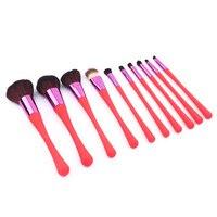 Brand New Premiuim 10PCS 1Set Cosmetic Makeup Brush Brushes Set Foundation Powder Eyeshadow Professional Cosmetic Make