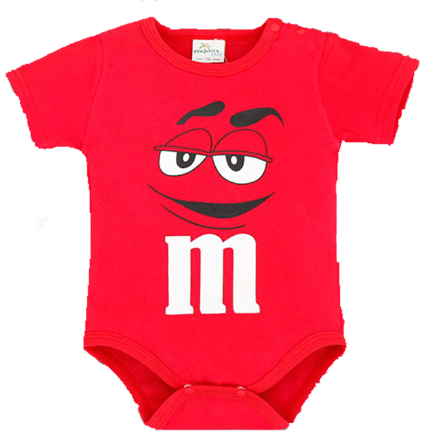 Baby Rompers Newborn Baby Girl Clothes 2016 Summer Baby Costume Newborn Clothes Smile Character M Baby Boys Rompers tyh-30680