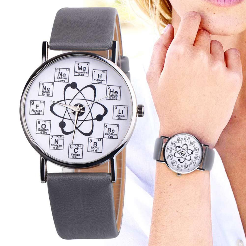 Women Lady Girl Wrist Quartz Watch Round Student Durable Stainless Steel Fashion Gift TT@88