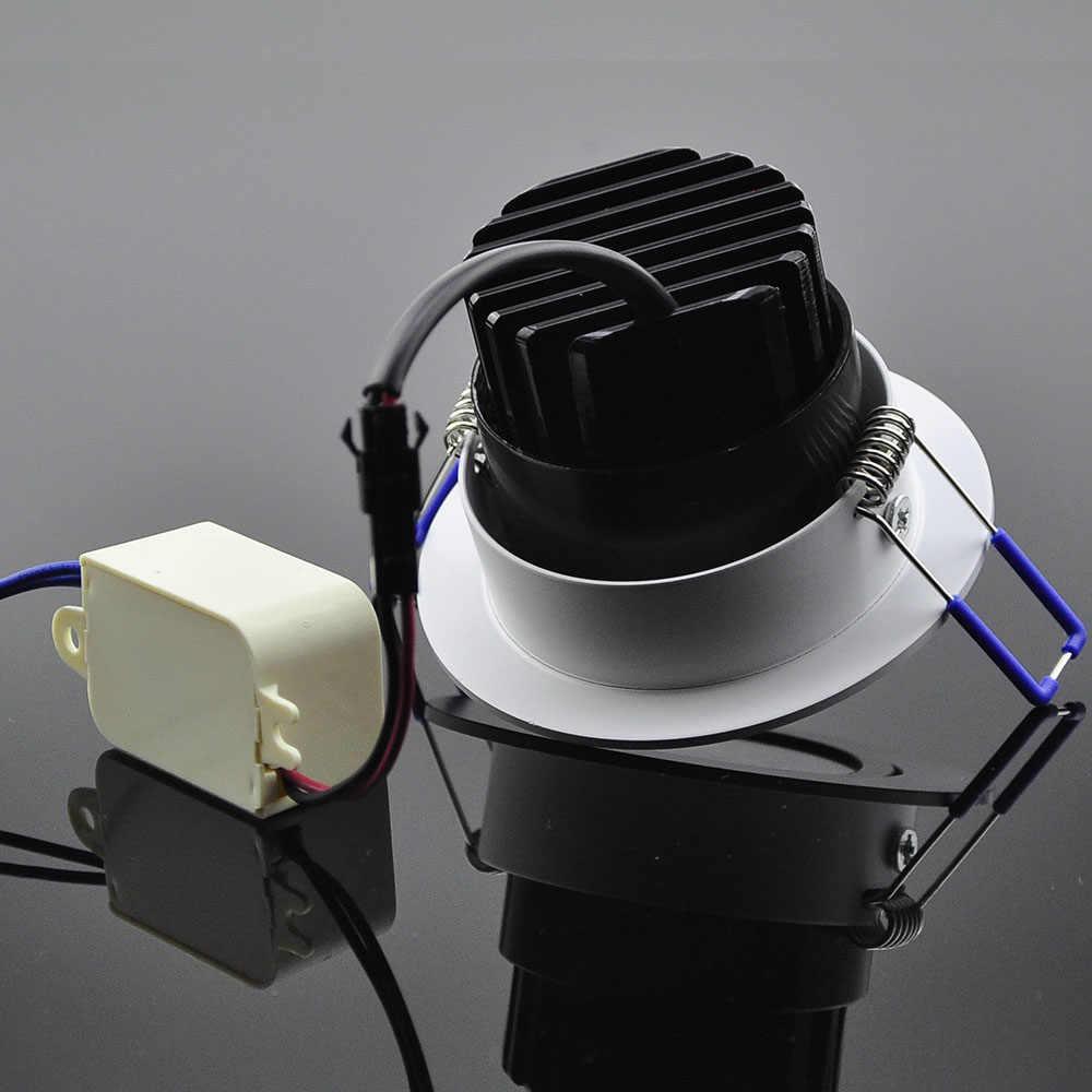 Светодиодный светильник COB супер яркий 5 Вт 7 Вт 9 Вт 12 Вт Точечный светильник 220 в потайной шкаф настенный и потолочный светильник для домашнего освещения