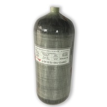AC3120 12L Compressed Air Rifle Carbon Fiber Tank 300Bar 30Mpa 4500psi Carbon Air  Tank For Small Paintball Tank Refilling-R цена 2017