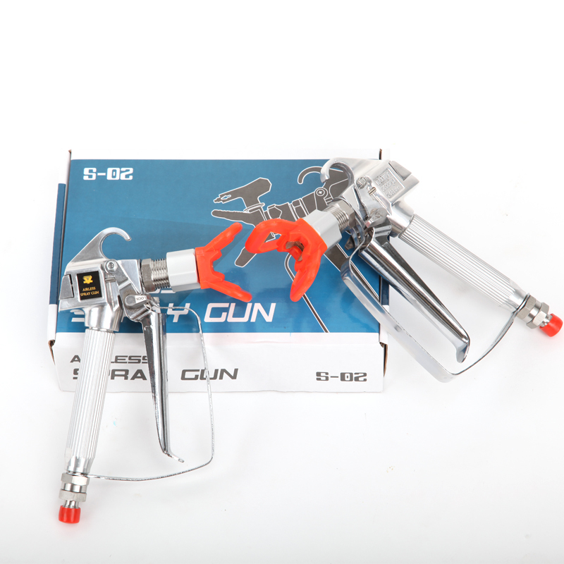 ФОТО Top quality Gmax Contractor Airless Spray Gun with 3600PSI nozzle Tip 517/519