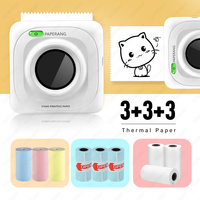 P1 Mini Pocket Photo Printer Mobile phone Photo Printer Portable Handheld Printer Bluetooth 200 dpi pictures Printers