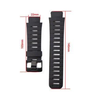 Image 2 - Watch Accessories Silicone Watch Strap Suitable for SUUNTO  X LANDER  Spartan Warrior Strap Convex 22mm Mens Watch Strap