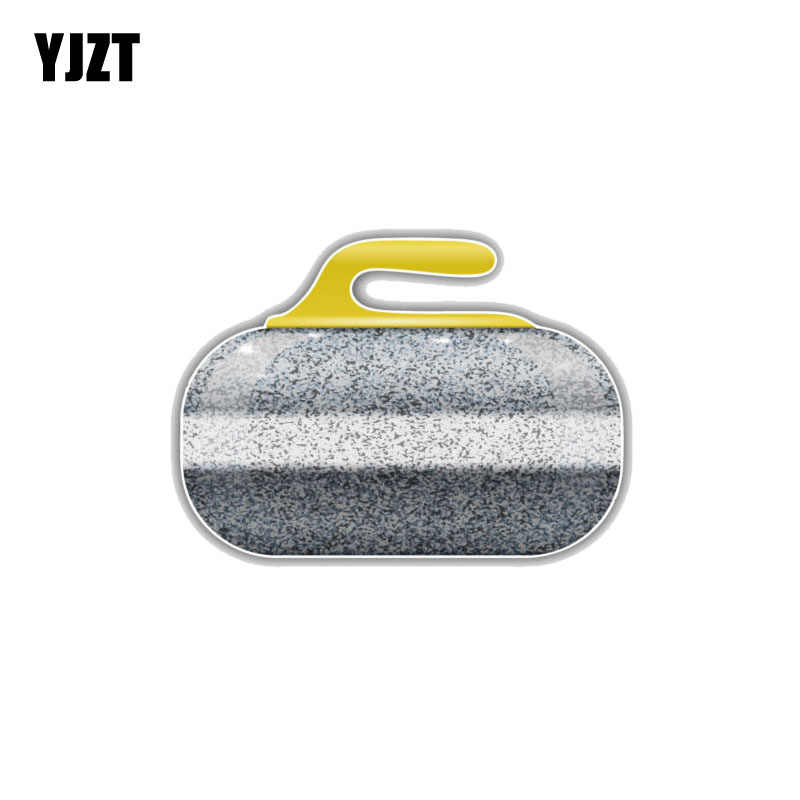 YJZT 12 7CM*9CM Cartoon Window Decoration Curling Stone PVC