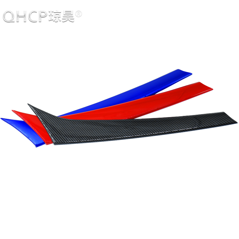 QHCP ABS 3 Colors Carbon Fiber Style Central Console Decorative Panel Cover Trim For Alfa Romeo Giulia FREE SHIPPING