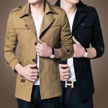 2017 мужская Мода Бренд Clothing, армия Дизайн Повседневная мужская Молнии Куртки, Осень Качество мужская Slim Fit Пальто бесплатная доставка