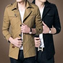 2017 herrenmode marke clothing, armee Design Casual männer Zipper Jacken, Herbst Qualität männer Slim Fit Mäntel kostenloser versand