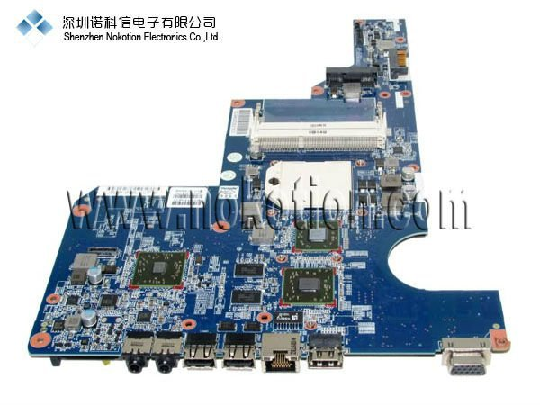 NOKOTION Original laptop Motherboard FOR HP G62 597673-001  DDR3 FULL TESTED Mainboard original for hp cq320 cq321 motherboard 605746 001 6050a2327701 mb a02 ddr3 maiboard 100