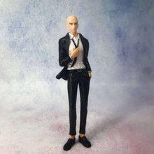 Costume d'affaires pour hommes, Anime ONE PUNCH MAN, Saitama Figurine de collection en PVC, modèle de jouets pour enfants, poupée de 19cm