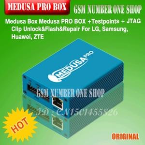 Image 3 - 100% оригинальный новый Medusa PRO Box medusa box + ISP все в адаптере + JTAG Clip MMC для LG для Samsung для Huawei с кабелем Optimus