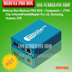 Image 3 - 100% Originele Nieuwe Medusa Pro Doos Medusa Box + Isp Alle In Adapter + Jtag Clip Mmc Voor Lg Voor samsung Voor Huawei Met Optimus Kabel
