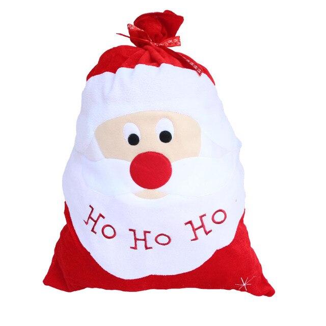 Babbo Natale Ho Ho Ho.Us 6 8 40 Di Sconto Di Natale Ho Ho Ho Grande Babbo Natale Dift Borse Babbo Natale Babbo Sacchi Adornos Navidad Sacchetto Del Regalo Di Natale Della