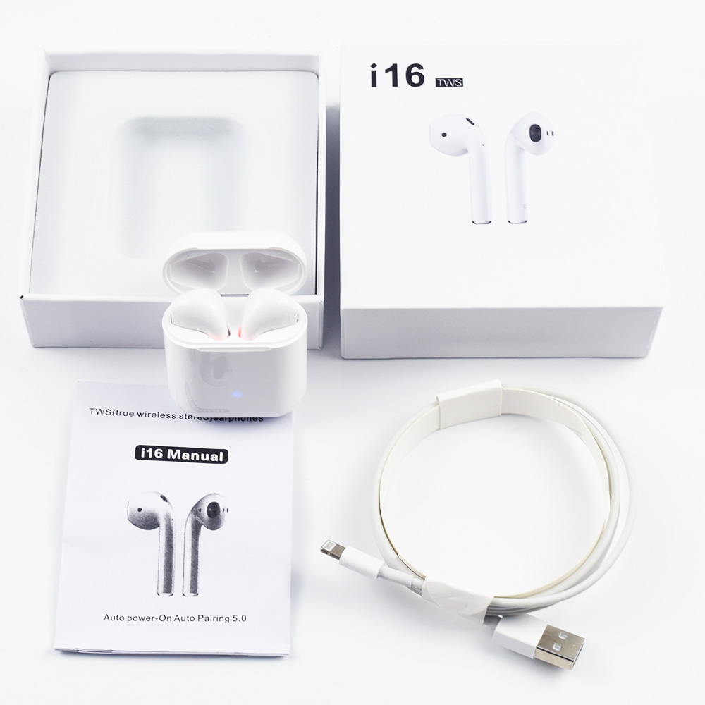 D'origine i16 TWS 1:1 Airpods bluetooth sans fil 5.0 super stéréo écouteurs spécis basses pour xiaomi vrai earpods PK i7s i10 i11 i12 tws
