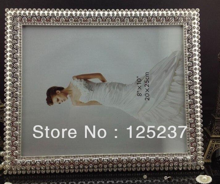 8x10 picture frames square crystal frame wedding favor wholesale ...